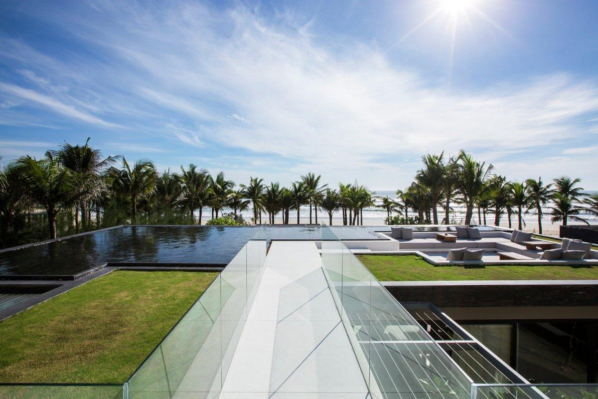 MIA Design Studio, Нон Нуок, виллы во вьетнаме, фото виллы на берегу моря, вилла на побережье, Naman Residence, резиденция вьетнам