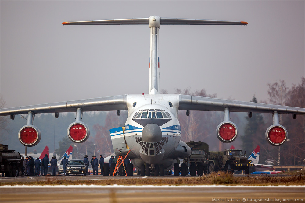 Кубинка, Русские витязи, 04.11.2014