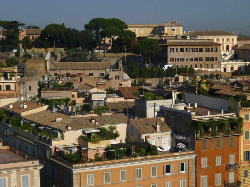Рим, вид с холма Палатин (Rome, view from the Palatine Hill)