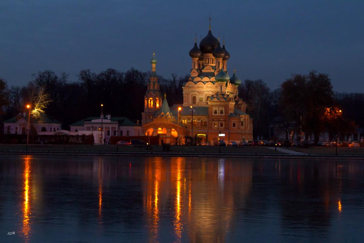 Храм Троицы Живоначальной в Останкине