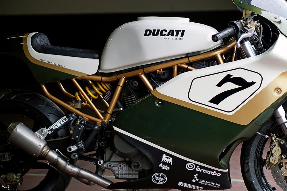 Deep Creek Cycleworks: гоночный кастом Ducati Distinto