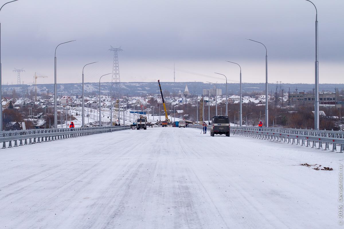 Мостовой переход через судоходный канал в Балаково 4