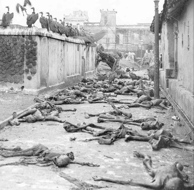 Голод в Бенгалии, Индия