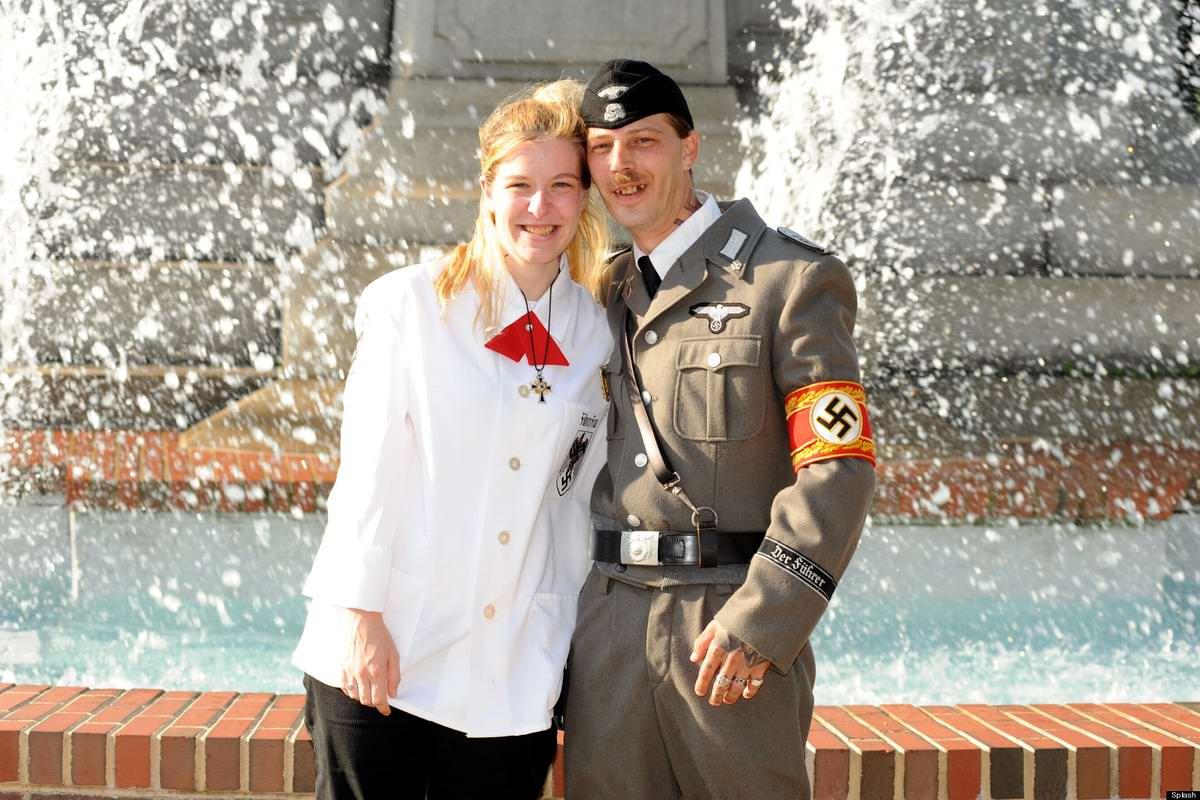 Неонацистская парочка из США: Если у нас родится девочка, мы назовем ее Евой Браун (7)