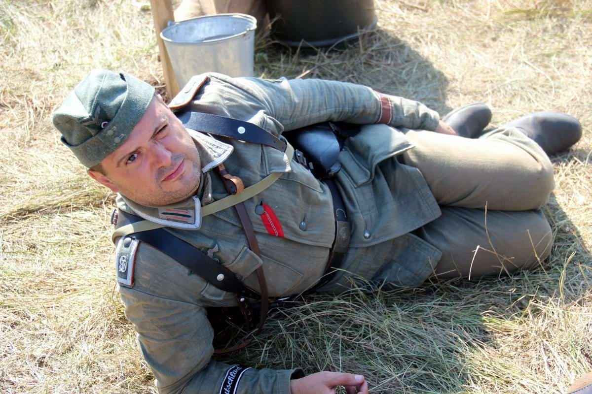 Забавные моменты из жизни военных реконструкторов (86)