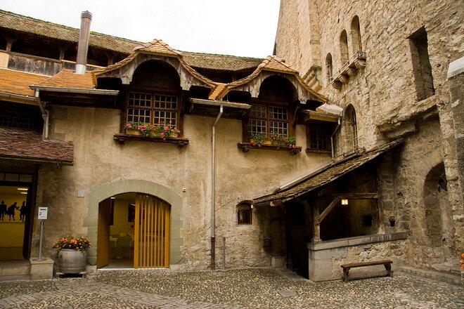 Шильонский замок. Швейцария