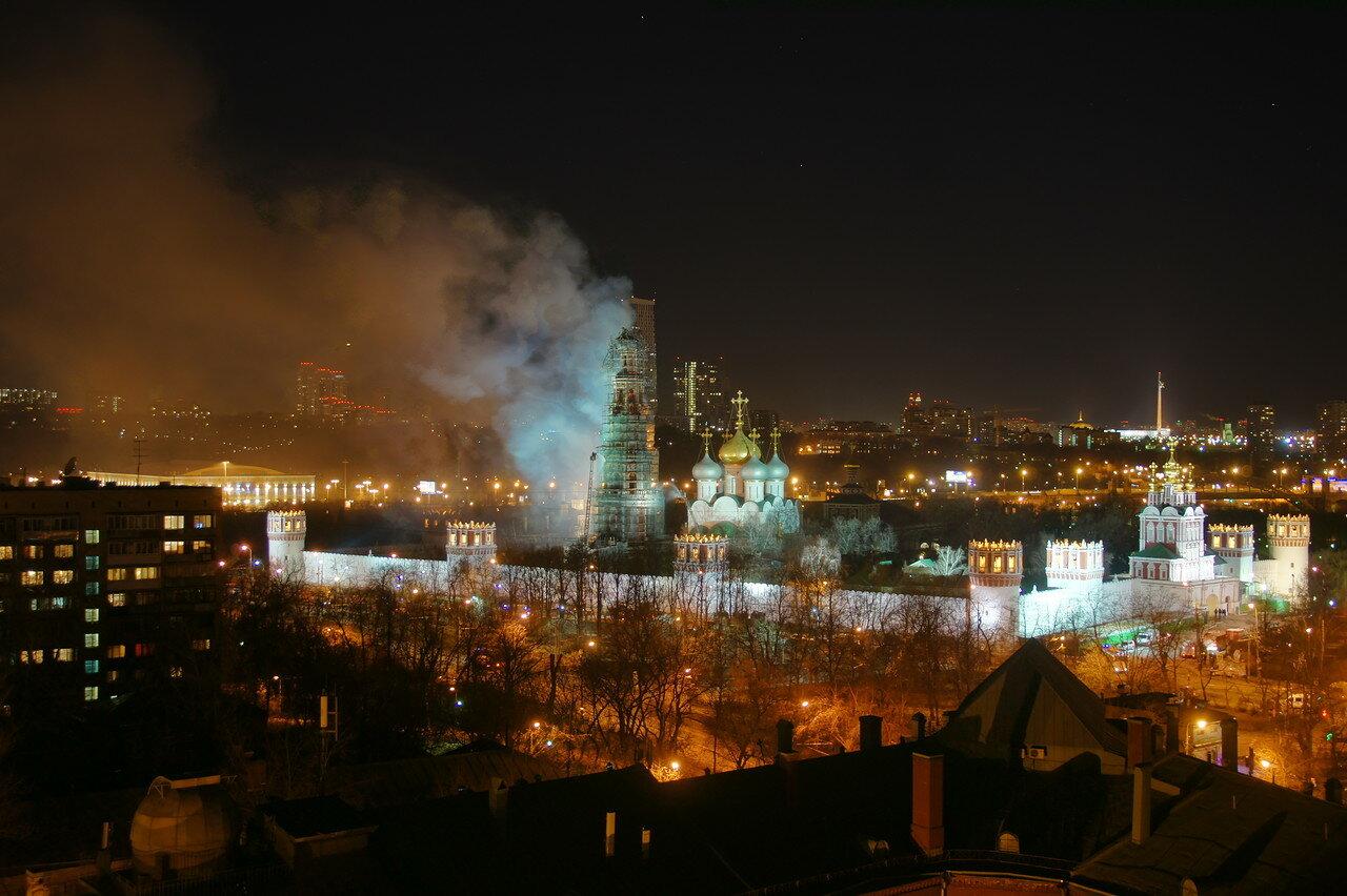 Пожар на колокольне потушен 23:55
