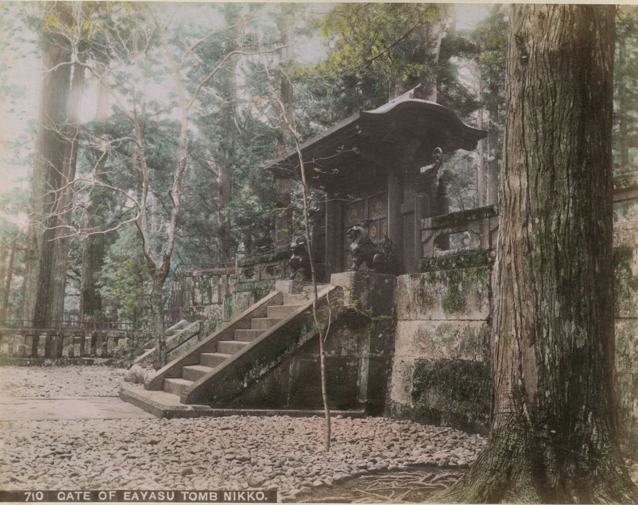 Никко. Гробница  Иэясу