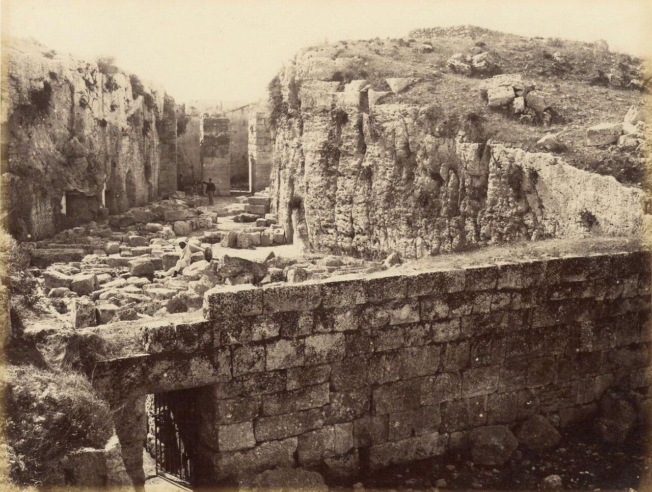 Сиракузы. Руины