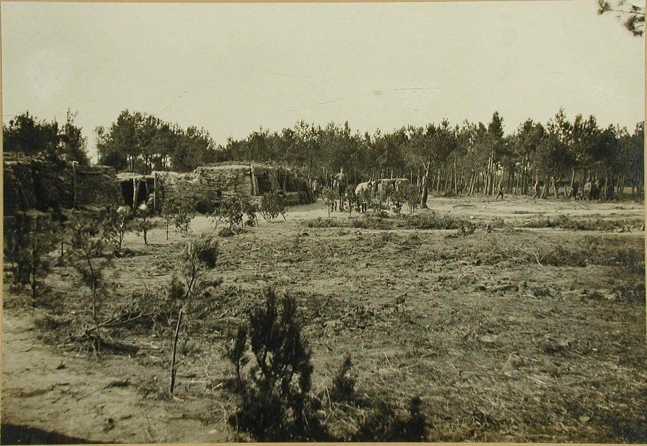 04. Вид на защитные сооружения для III-го эскадрона гусарского полка