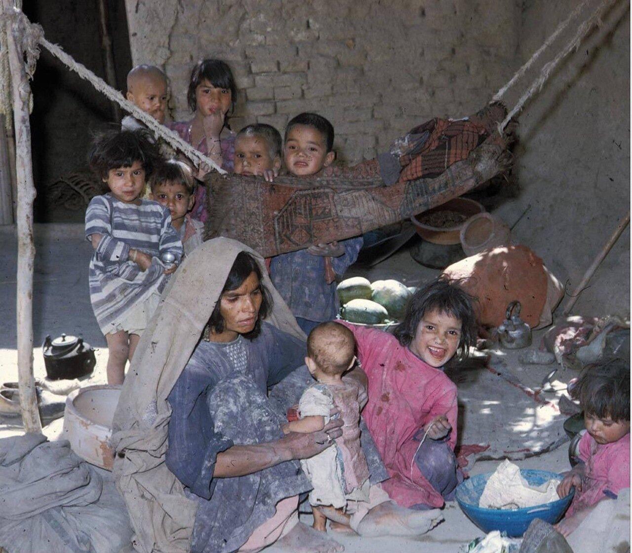 Мусульманская семья кочевников