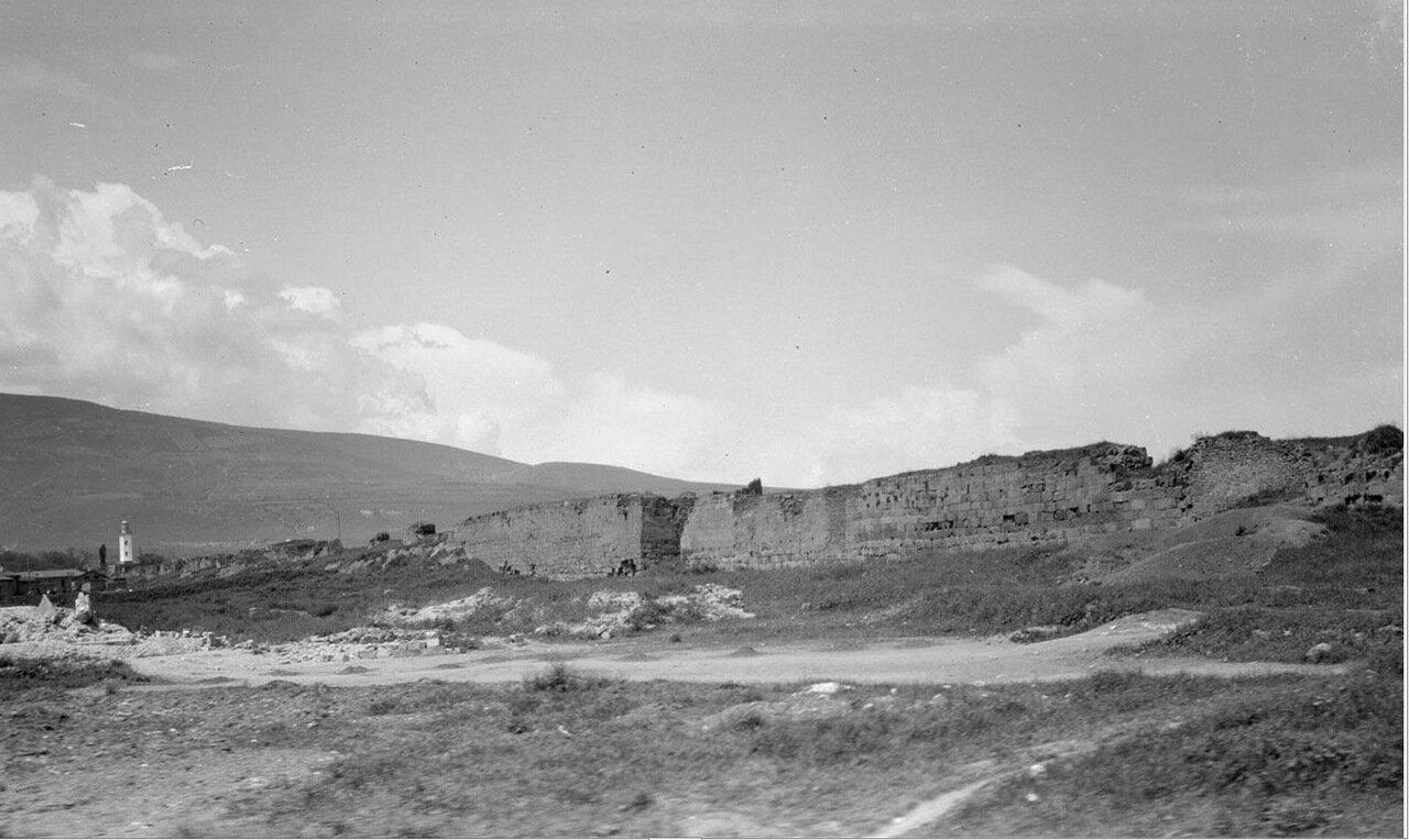 Укрепления в Дербенте возле Каспийского моря