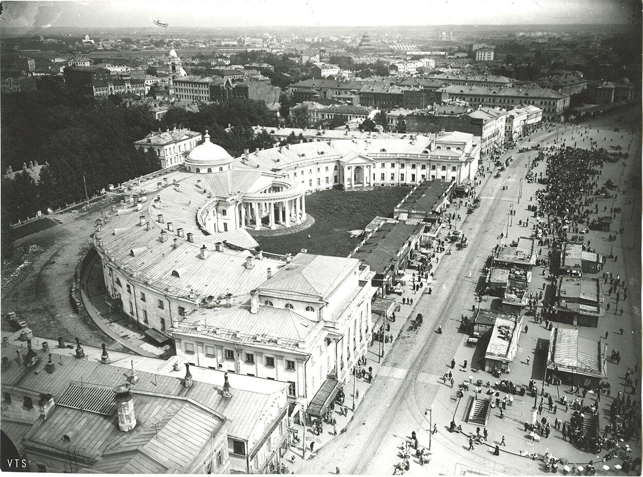 563. Панорама Москвы с Сухаревой башни. 1910-е