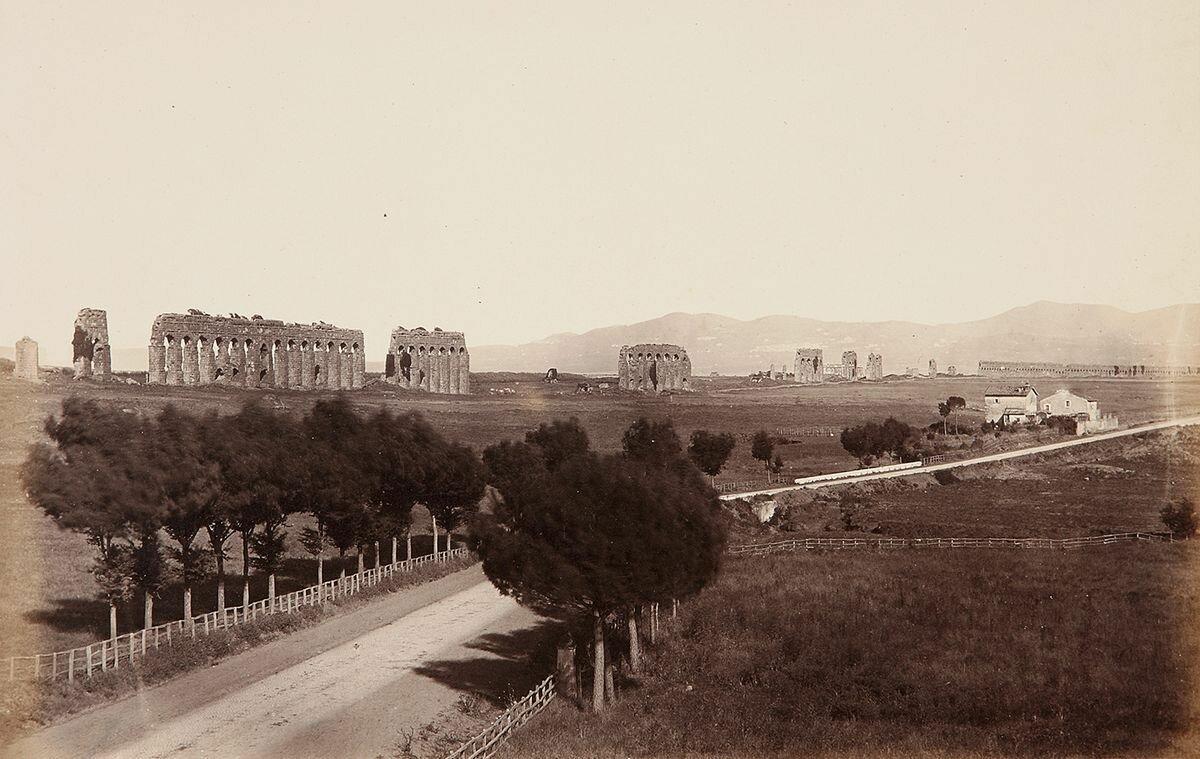 Апиева дорога. 1856-1857