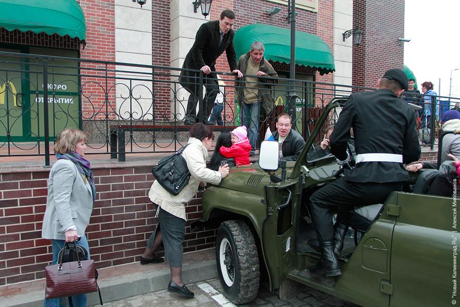 Наезд на ребенка после парада Победы