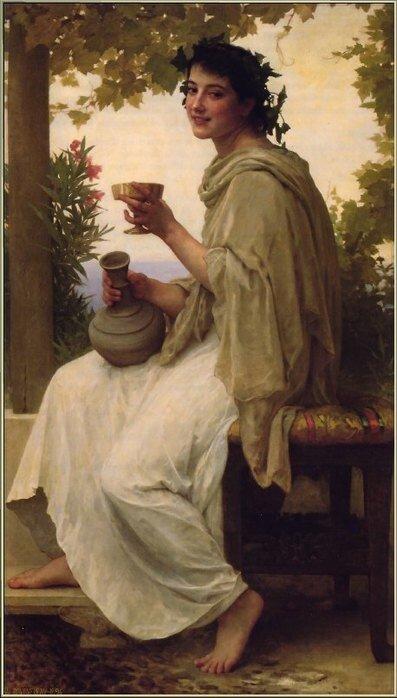 Адольф-Вильям Бугро, 1894 г., Вакханка