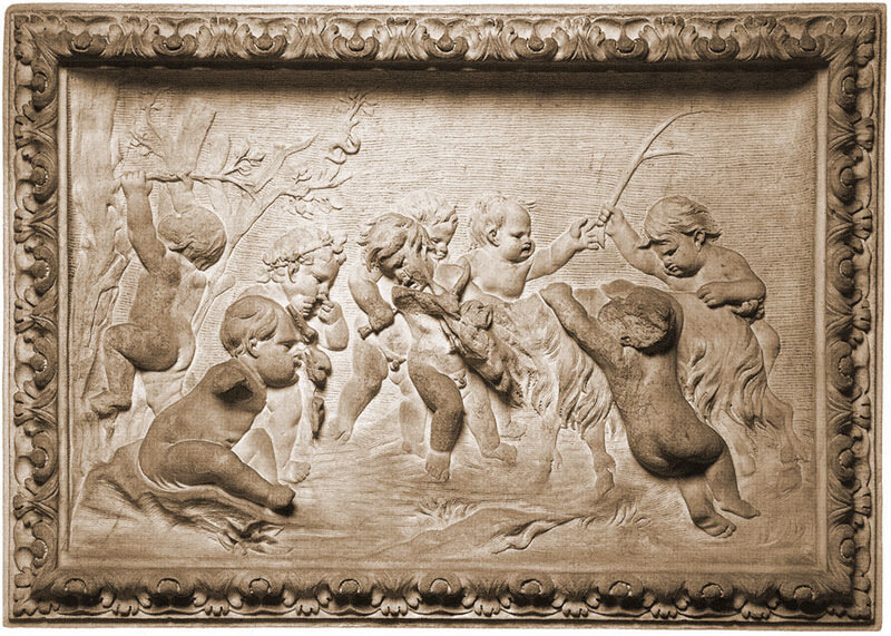 Франсуа Дюкенуа, 1630 г.Рим, галерея Спада, Детская вакханалия