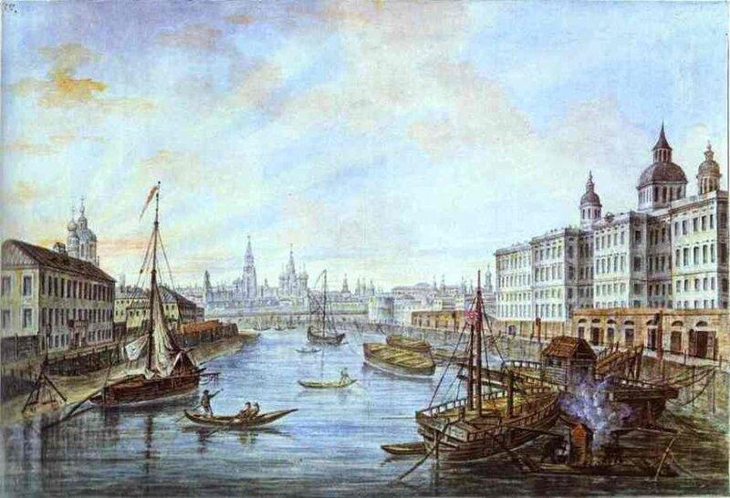 Приютская больница в Москве.1800