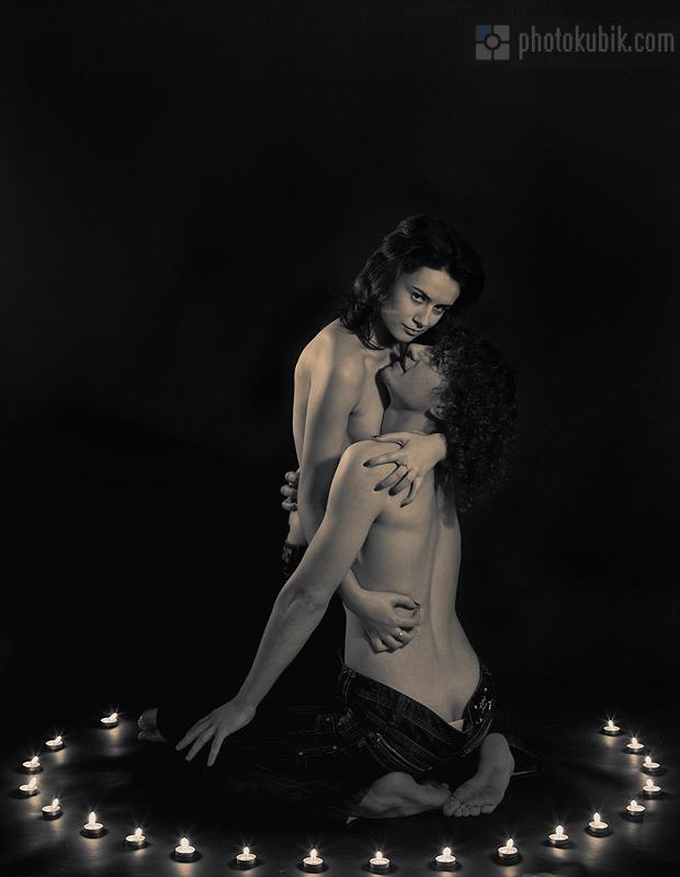 эротика портрет  Лав стори в День святого Валентина
