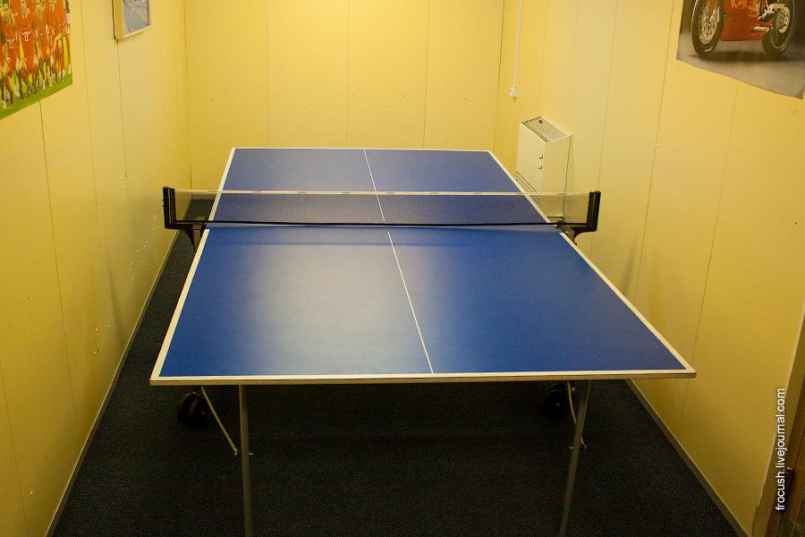 стол для настольного тенниса на теплоходе Александр Радищев