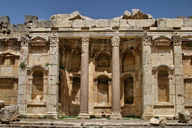 Баальбек. Храм Юпитера
