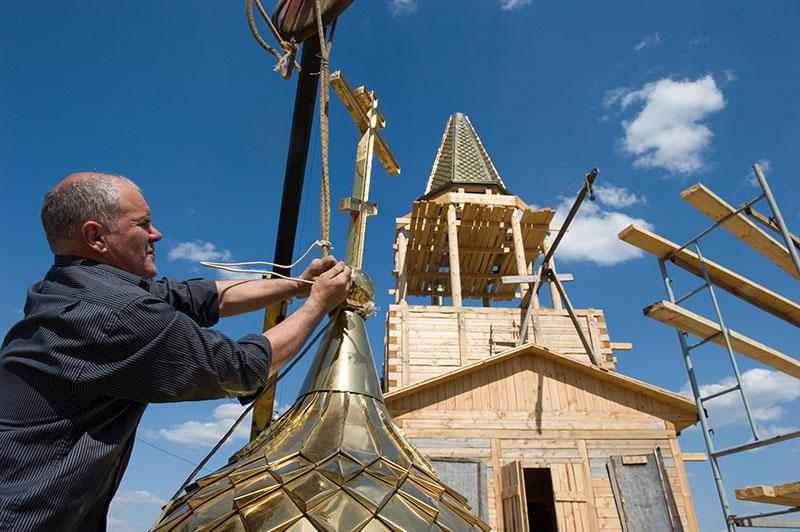 Храм Страстной иконы Божией Матери в деревне Артемово Пушкинский район