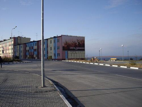 по улицам Анадыря
