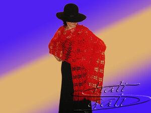 Шаль остается излюбленным аксессуаром в одежде современной женщины.  Она не стареет как не стареют понятия...