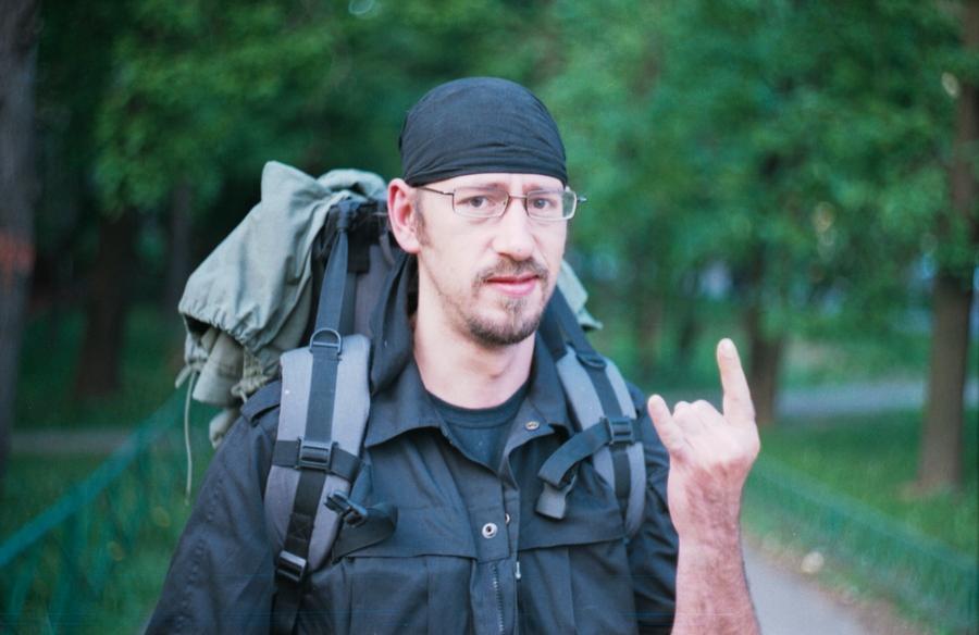2010, лес, лето, лицо, люди, москва, мужчина, неформал, неформалы, парень, пленка, плёнка, портрет, россия, человек