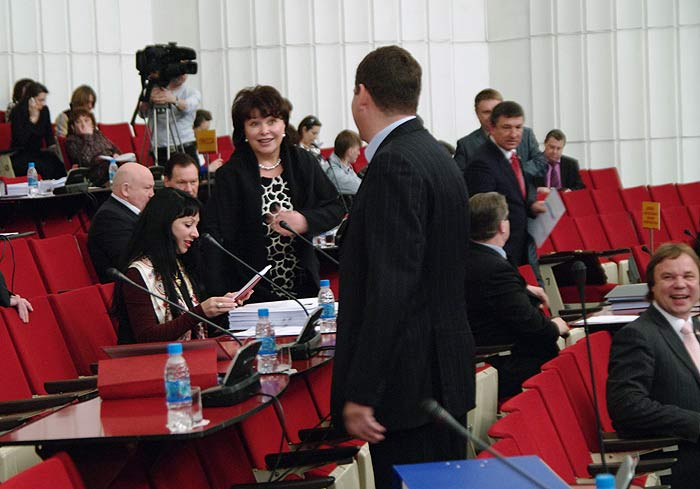 Фоторепортаж с заседания ЗакСа Приморского края