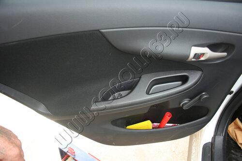 Тканевая дверь Toyota Corolla