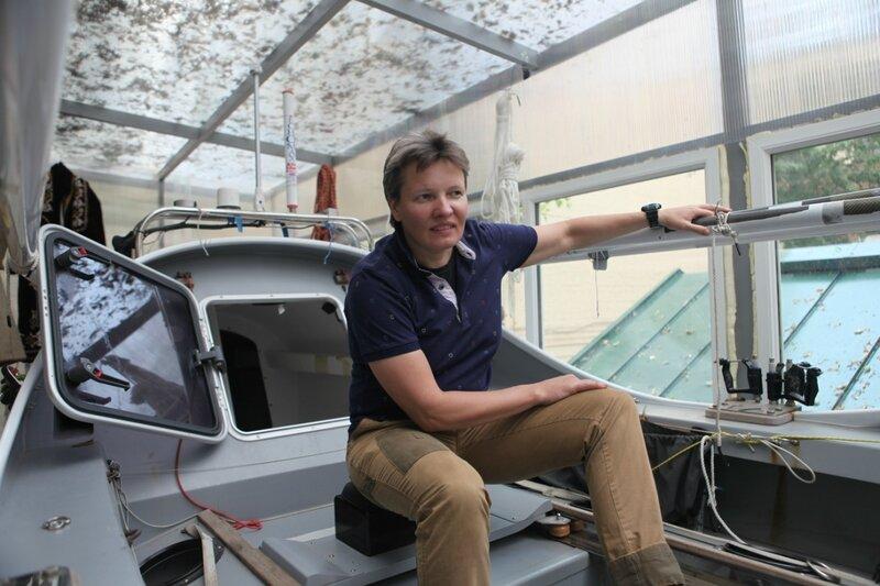 Весельная лодка, на которой Федор Конюхов пересек Тихий океан
