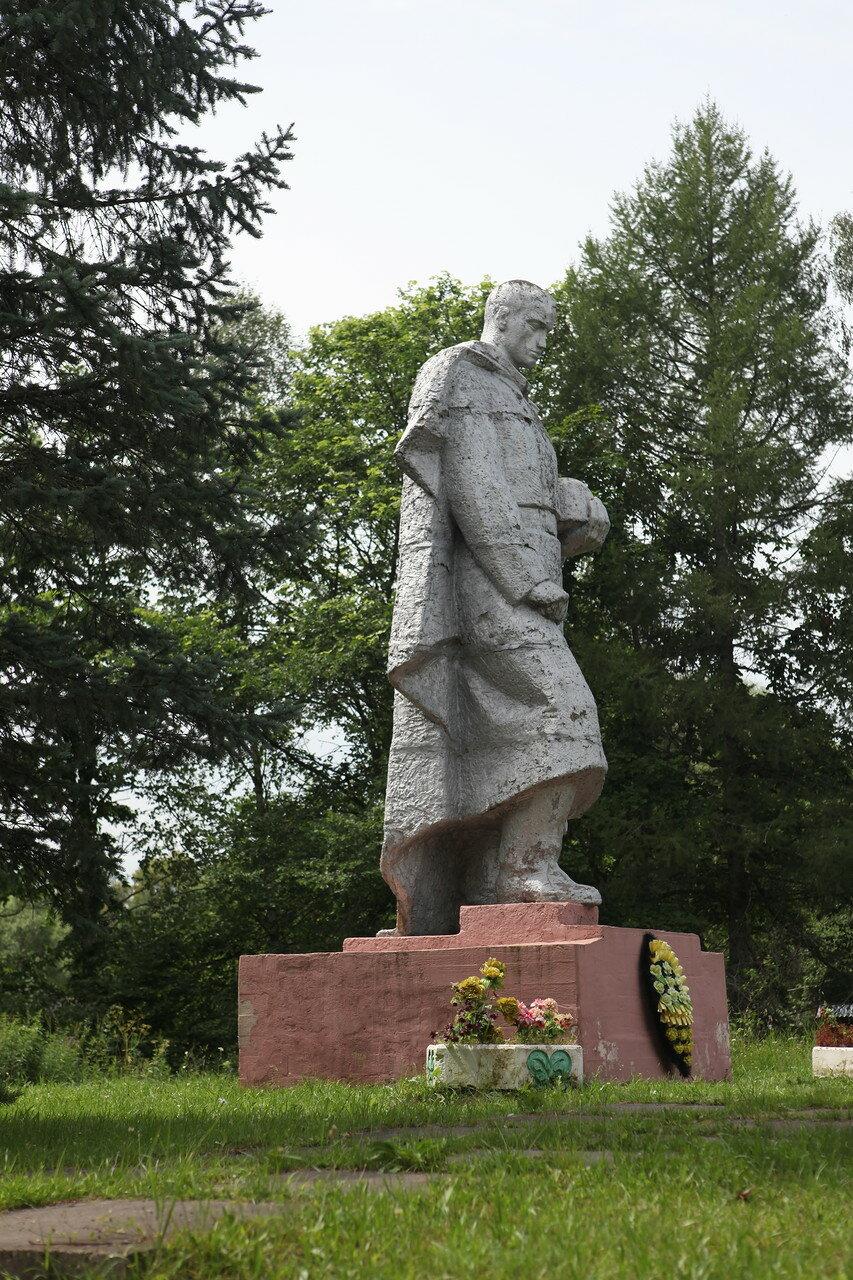 Поселок Пржвальское в Смоленском Поозерье