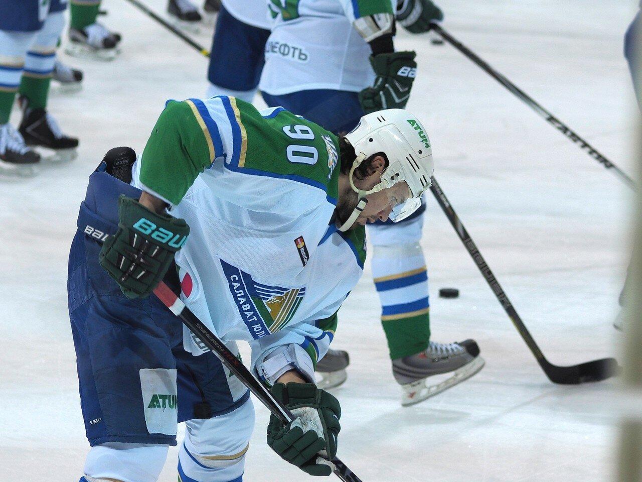 16Плей-офф 2016 Восток Финал Металлург - Салават Юлаев 31.03.2016