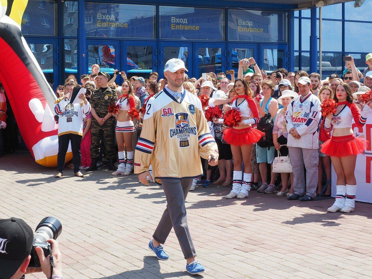 28Церемония чествования команды Металлург27.05.2016