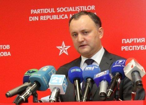 Додон: депутаты парламента не заслужили пасхальных премий
