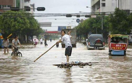Сильное наводнение в Северной Корее - 130 человек погибло