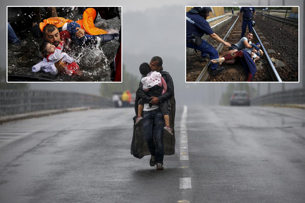Фотографии с мигрантами, за которые дали Пулитцеровскую премию