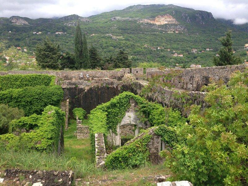 крепость Шпаньола в Херцег-Нови