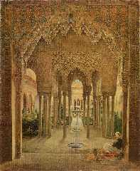 Альгамбра кисти Алексиса
