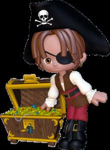 пираты с сокровищами
