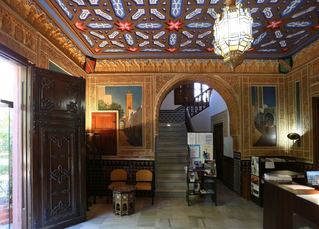 Альмуньекар. Дворец Нахарра (Palacete de la Najarra). Интерьеры