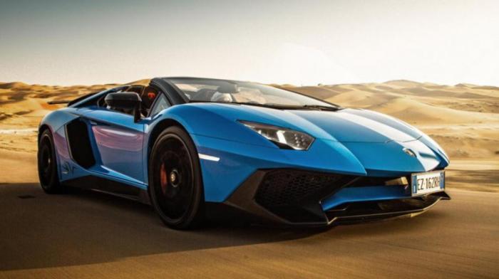 Lamborghini Aventador SV: 0-100 км/ч за 2,8 с