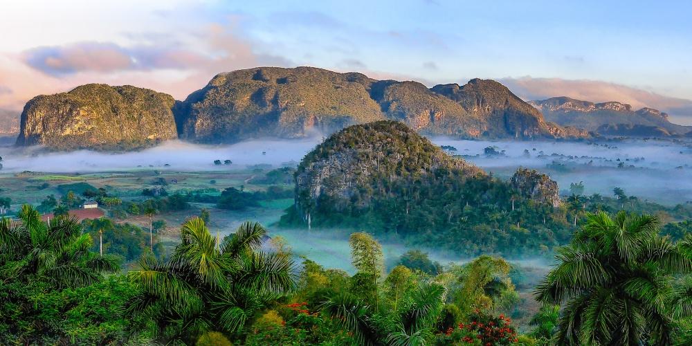 Сказочная долина Виньялес изсписка Всемирного наследия ЮНЕСКО.