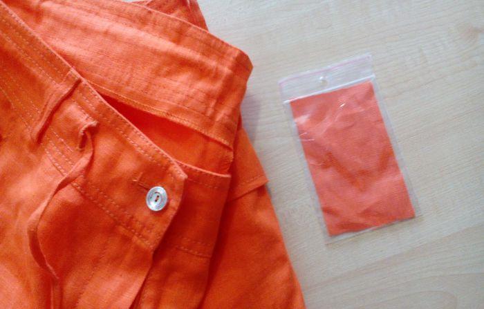 Если цвет ткани после высыхания не изменился и лоскуток не пострадал, изделие можно стирать в те