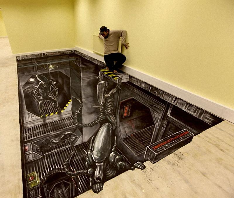 Самый большой 3D – рисунок в мире
