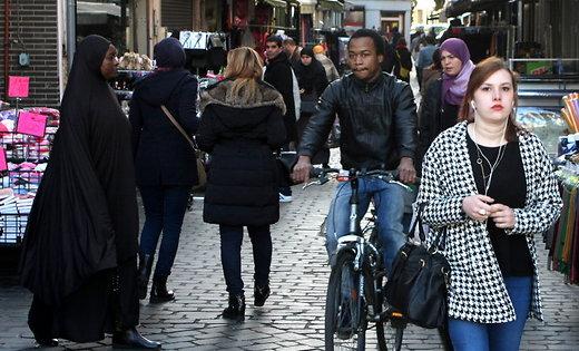 Беспорядки вБрюсселе: около сотни задержанных