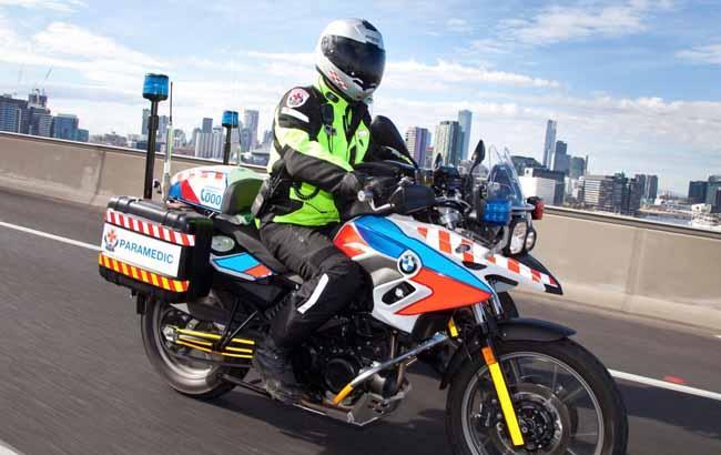ВКиеве в будущем 2017г обещают запустить медицинскую помощь намотоциклах