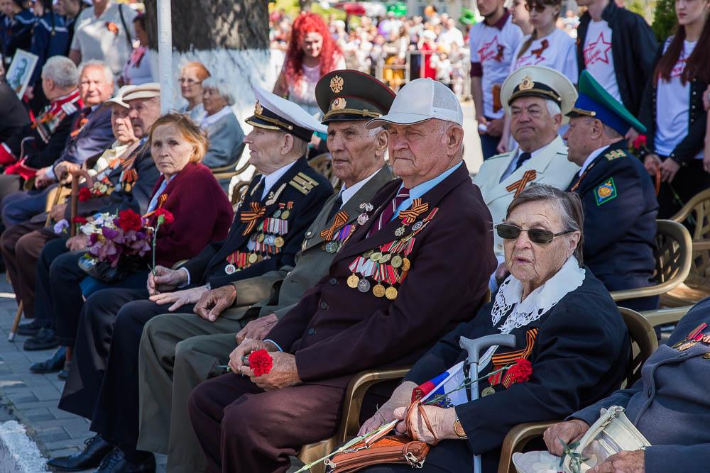 День Победы в Анапе 2016