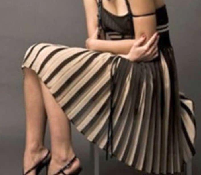 Пояс для юбки на вязальной машине